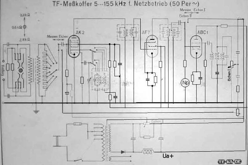traeger schematic old measuring instruments